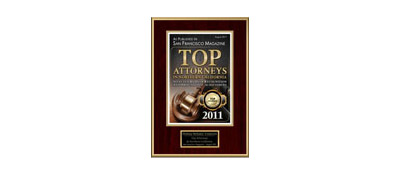 San Francisco Magazine Top Attorneys 2011